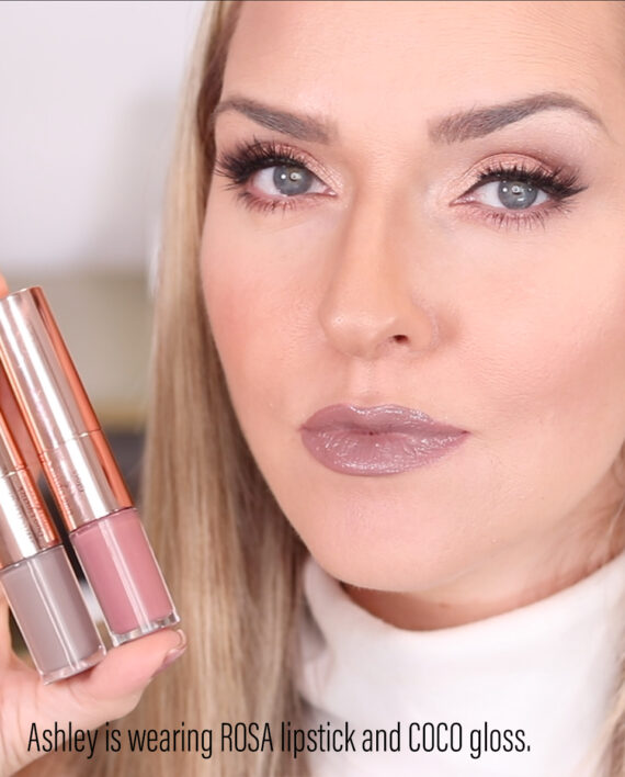 Switch It Up Duo Lipstick & Gloss in ROSA & COCO